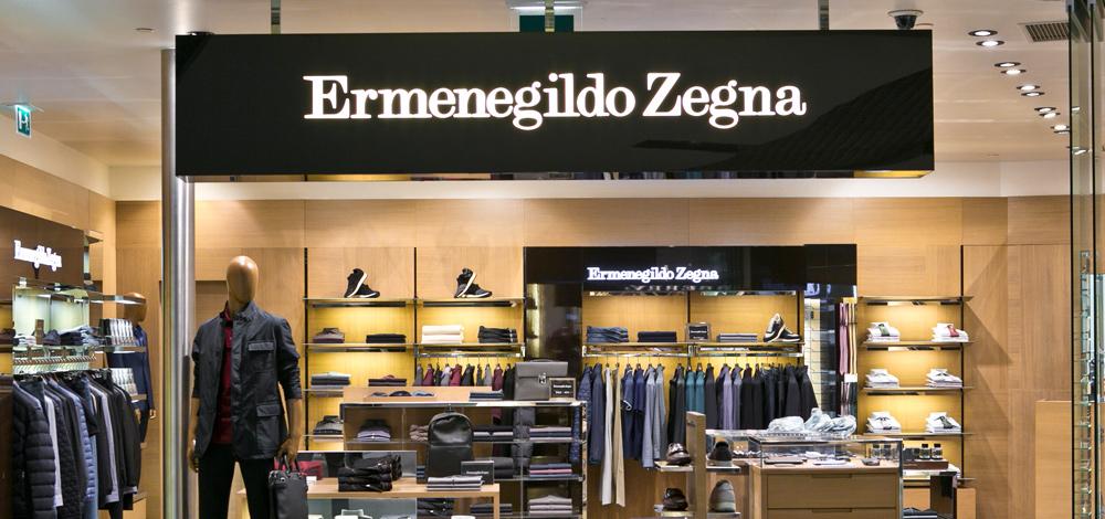 692608b907 Ermenegildo Zegna | Lisbon Airport